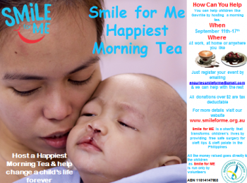 Smile for Me Happiest Morning Tea