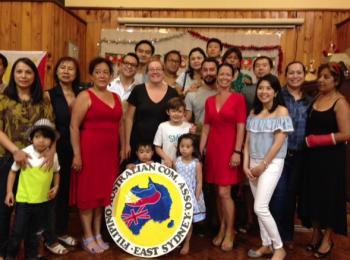 Filipino Australian Community Association Eastern Sydney fundraising concert